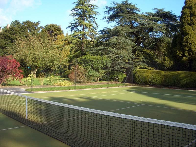 Tennis court construction - Anglia & Midland sports Surfaces AMSS