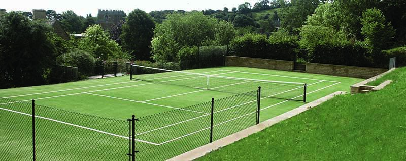 Tenniturf is a high-quality tennis court surface from AMSS tennis court builders