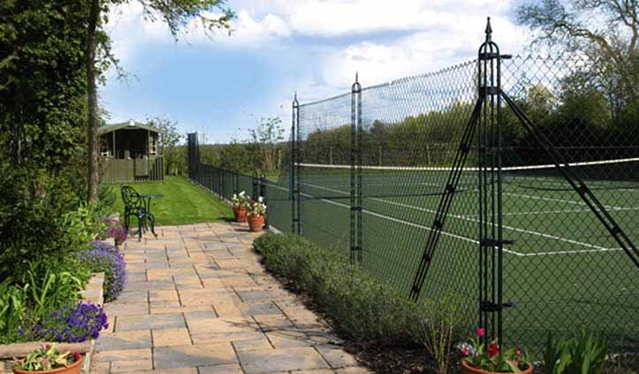 Pladek tennis court surface by AMSS